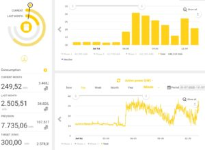 Energy Monitoring Incoming Electricity